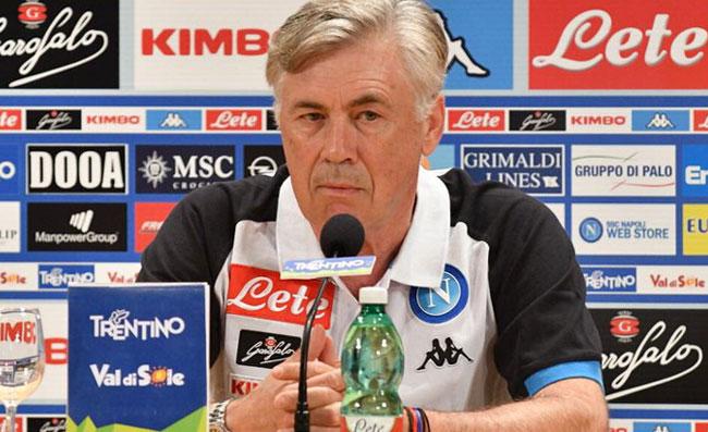 """Ancelotti cita sei calciatori: """"Che qualità a centrocampo, ma di aggressivi ne abbiamo"""""""