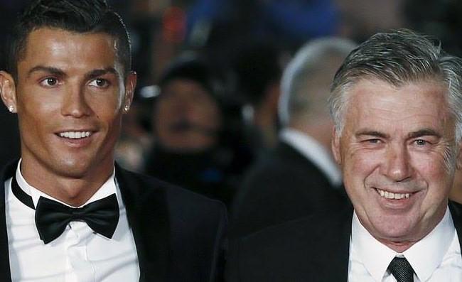 """Cristiano Ronaldo: """"Ancelotti è nel mio cuore, mi ha dato tanto. Sarà bello incontrarci!"""""""