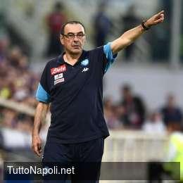 """SSC Napoli saluta Sarri: """"Lo ringraziamo, ha valorizzato i calciatori realizzando gioco di qualità apprezzato nel mondo"""""""