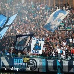 UFFICIALE – Napoli-Milan, biglietti in vendita da lunedì e prelazione vecchi abbonati: rincari per le Curve, i dettagli