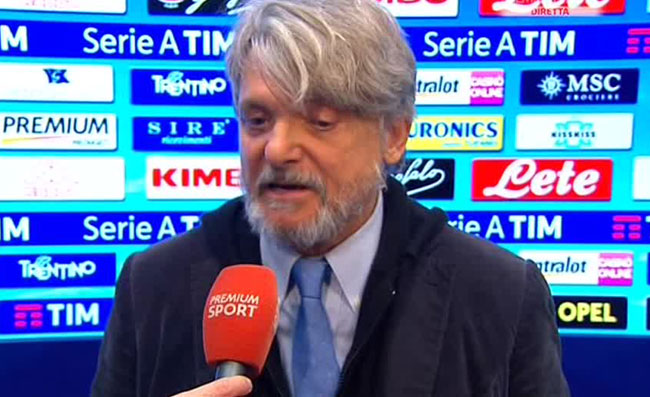 "Ferrero: ""De Laurentiis mi è amico per interesse! Quando mi telefona, dice…"""