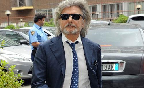 """Ferrero: """"Pallotta miracolato, gli soffierò la Roma! Lotito numero uno. Italia? Da Scherzi a parte"""""""