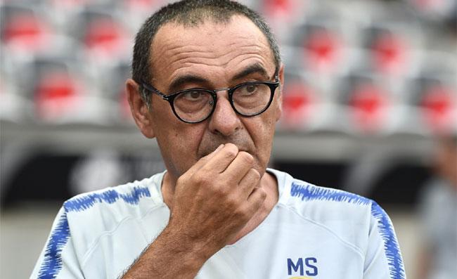 """Sarri: """"Chiedete alla società perchè non alleno più il Napoli! Ho un messaggio per la squadra"""""""