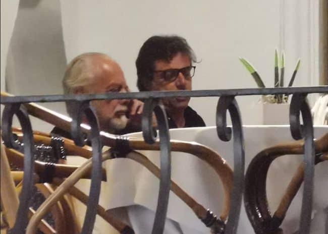 De Laurentiis e Giuntoli a Capri. Ore calde per il calciomercato del Napoli. Le ultime