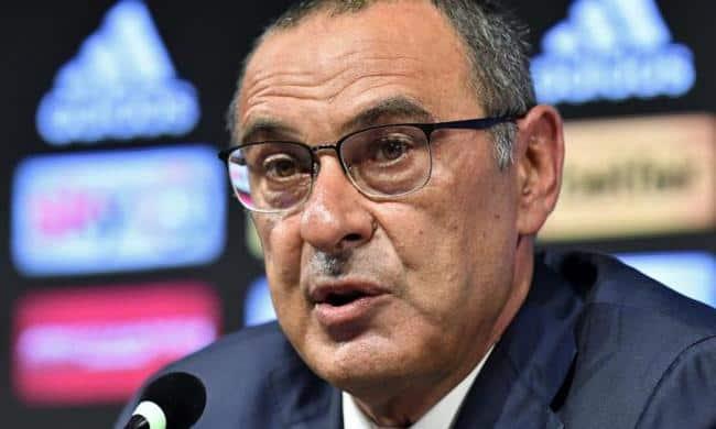 """Juve, Sarri: """"saranno contenti i giornalisti, ma io avrei voluto vincere quattro a zero"""""""