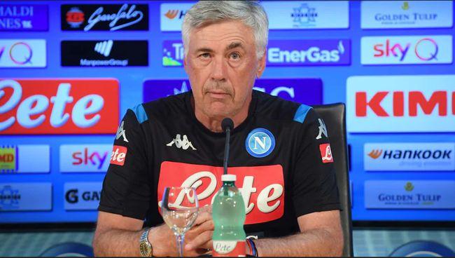 """Napoli, Ancelotti: """"Persa un'occasione. Sono molto deluso, ci sacrifichiamo poco."""""""