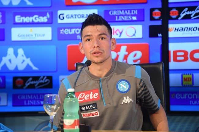 """Napoli, Lozano si presenta: """"Qui per i tifosi e Anceloltti.  Sono successe tante cose…"""""""
