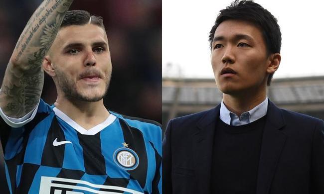 Retroscena. Icardi vuole restare all'Inter, Zhang apre al Napoli.  Wanda alla fine potrebbe accettare il trasferimento in Campania