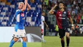 Diretta Napoli-Cagliari ore 21: probabili formazioni e dove vederla in tv