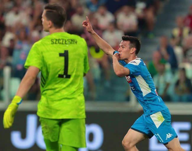 Gazzetta. Juve-Napoli, Lozano il migliore. Il campionato non è nato morto