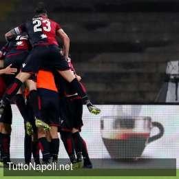 Il Genoa cade a Cagliari, Zapata pasticcia e i sardi si impongono nel finale