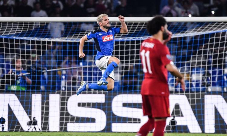 Il Napoli batte il Liverpool, nel segno del piccolo gigante Ciro Mertens e del gladiatore ispanico El Rey Leon