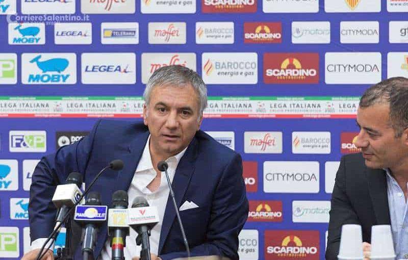 """Meluso Ds Lecce: """"Con il Napoli non partiamo battuti. La vittoria di Torino ci ha dato coraggio"""""""
