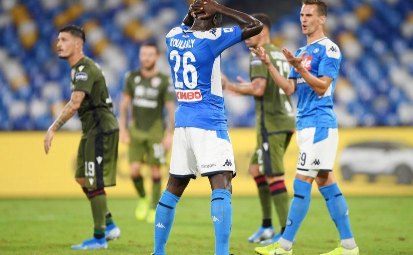 Napoli-Cagliari 0-1: Castro beffa Ancelotti