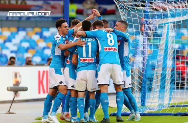 Napoli-Sampdoria 2-0. Mertens show. Elmas incanta il San Paolo
