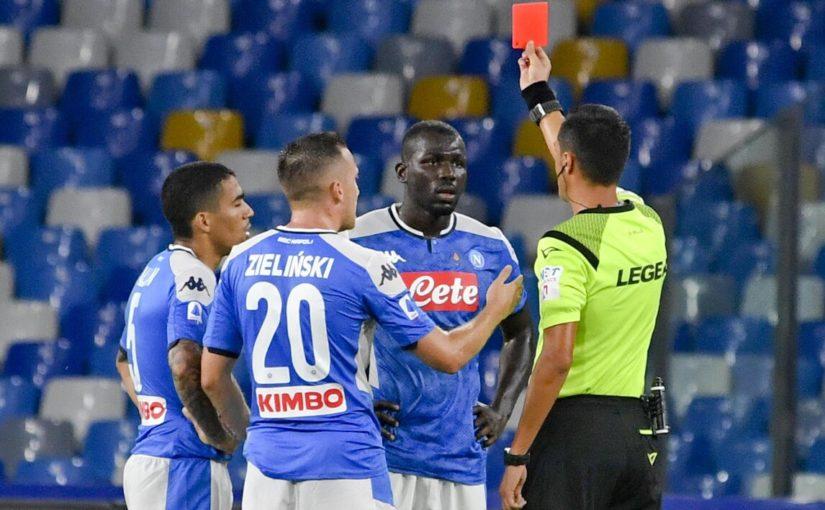 Napoli, due turni di stop a Koulibaly: salterà Brescia e Torino