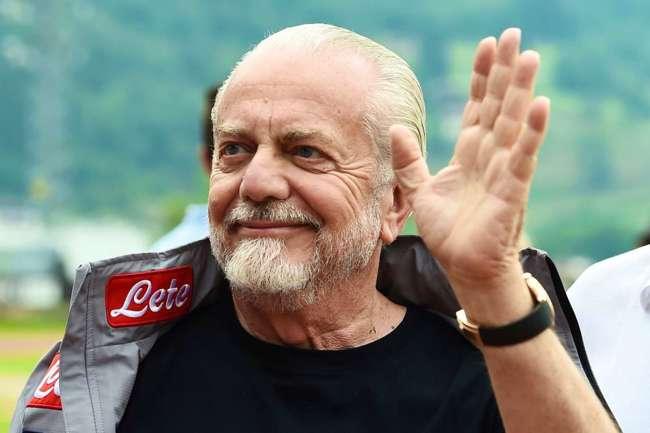 """Repubblica. De Laurentiis, confessione ai giornalisti: """"Vediamo le prossime tre partite poi…"""""""