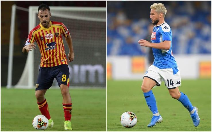 Sky: Lecce-Napoli. Ancelotti e Liverani valutano i possibili cambi. Milik a gara in corso.