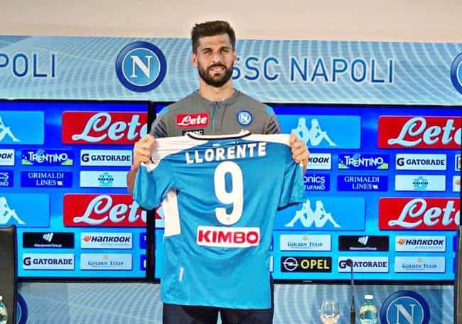 """Video. Napoli, Llorente si presenta: """"darò tutto per questa maglia. Possiamo vincere lo scudetto"""""""