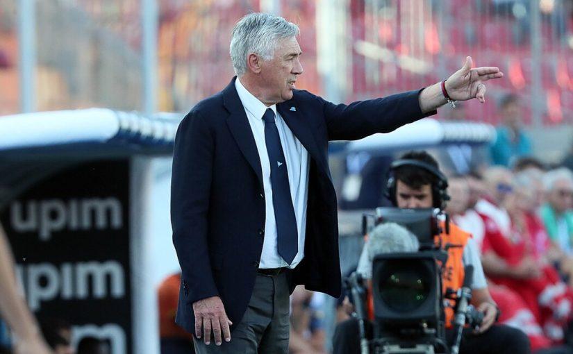 """Ancelotti sorride: """"Abidal in tribuna per Ruiz? Non credo, è scarso.."""""""