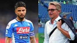 """Insigne zittisce Marocchi in tv: """"Offendi il Napoli"""""""