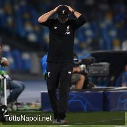 """Klopp torna sul ko: """"Prova buona, non è possibile dominare il Napoli"""""""