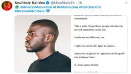 """Koulibaly, post contro il razzismo: """"Siamo tutti fratelli"""""""