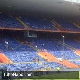 Allerta meteo in Liguria, a rischio rinvio Sampdoria-Roma