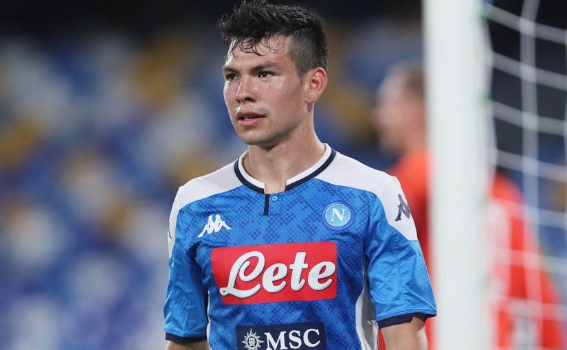 Napoli, Lozano gol: ma quanto stress