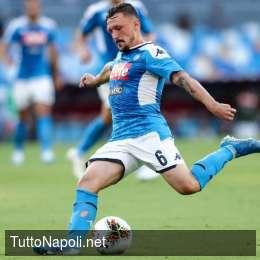 Ssc Napoli, il report della seduta mattutina: Mario Rui ha lavorato con la squadra