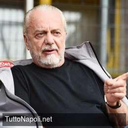 Tuttosport – ADL venerdì a Castelvolturno, pronta una richiesta per Ancelotti