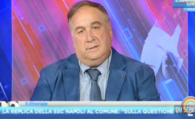 """Chiariello: """"Che danno per l'Inter, Conte si infurierà. Ma anche il Napoli ha perso un calciatore"""""""
