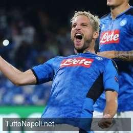 """Dal Belgio: """"Il Napoli è la prima scelta di Mertens. Vuole battere il record di Hamsik"""""""