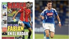 """""""Napoli, Fabian Ruiz è finito nel mirino del Real Madrid"""""""