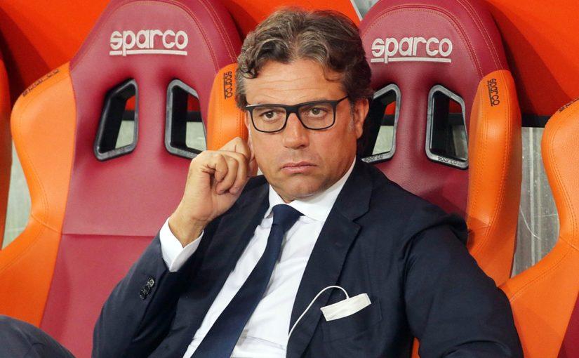 """Napoli, Giuntoli: """"Insigne in tribuna? E' tranquillo. Scelta tecnica"""""""