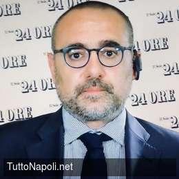 """Sole 24 Ore, Bellinazzo: """"Napoli troppo discontinuo per lottare contro la Juventus"""""""