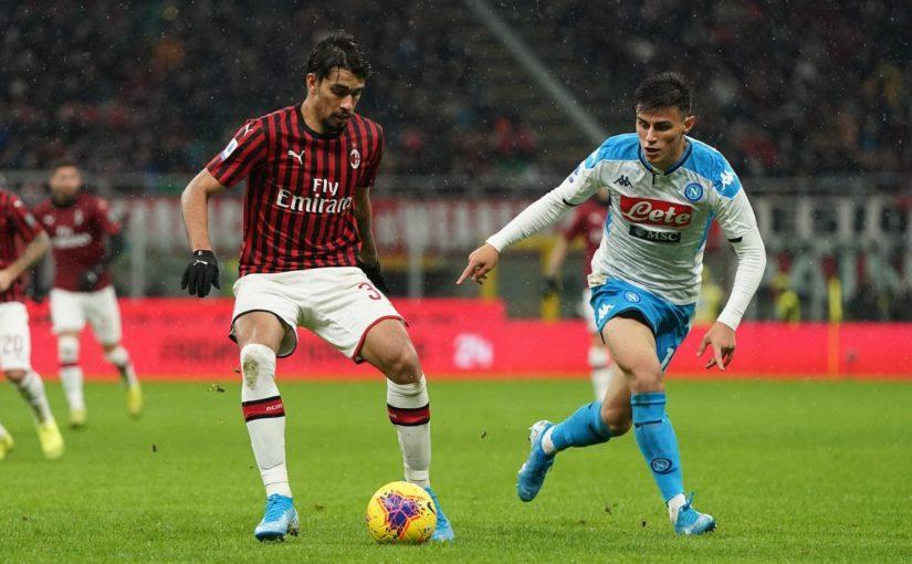 Milan-Napoli 1-1, il tabellino