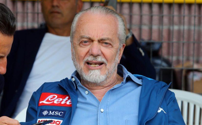 Napoli, incontro squadra-De Laurentiis: ecco cosa si diranno