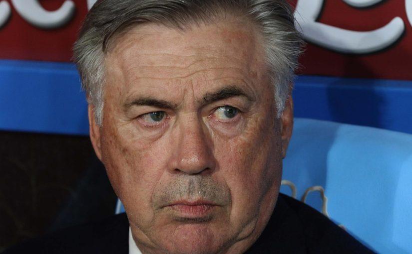 """Ancelotti: """"Giocatori e società non sono contro. Napoli, serve un colpo magico"""""""