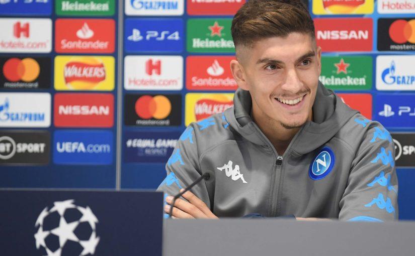 """Di Lorenzo: """"Il Napoli è carico. Vogliamo la qualificazione"""""""