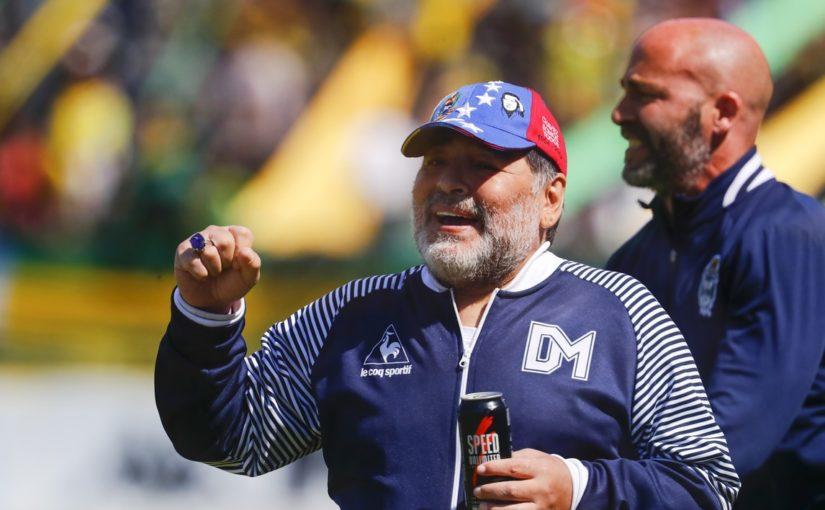 """""""Maradona sogna di diventare l'allenatore del Napoli"""""""