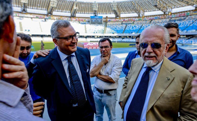 """Napoli, Auricchio: """"Milan e Liverpool terapia d'urto per salvare la stagione"""""""
