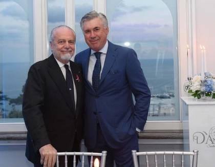 Il Napoli: mai usata clausola social di Ancelotti