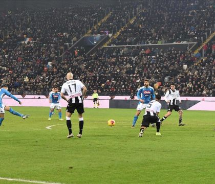 Il diagonale del gol di Zielinski tra le 10 cose da ricordare di Udinese-Napoli