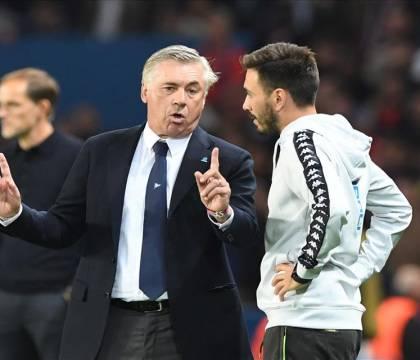 Mattino: Ancelotti ridimensiona il ruolo del figlio Davide