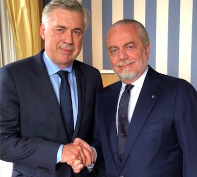 Mattino: se Ancelotti si dimettesse, De Laurentiis accetterebbe