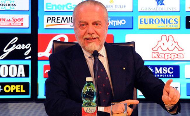 REPUBBLICA – Il Napoli non ha giocato contro Ancelotti, De Laurentiis davanti alla tv ne ha preso atto
