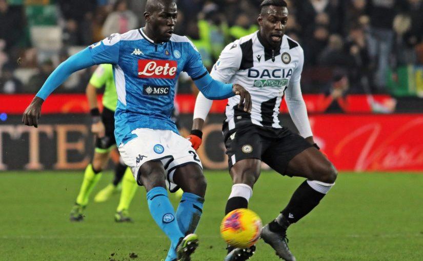 Udinese-Napoli 1-1, il tabellino