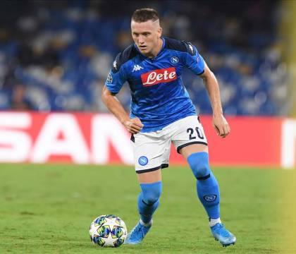 Zielinski segna il suo primo gol all'Udinese e riporta il Napoli in pareggio