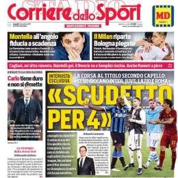 """PRIMA PAGINA – CdS: """"Ancelotti tiene duro e non si dimette"""""""